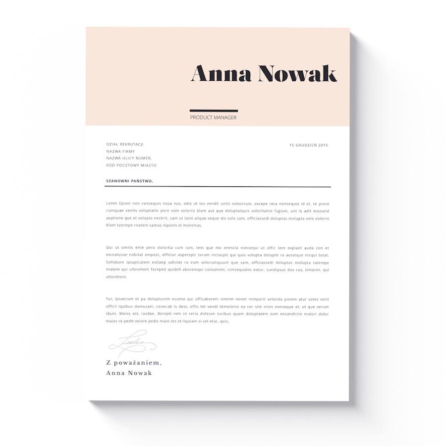 wzory i szablony CV lincoln list motywacyjny
