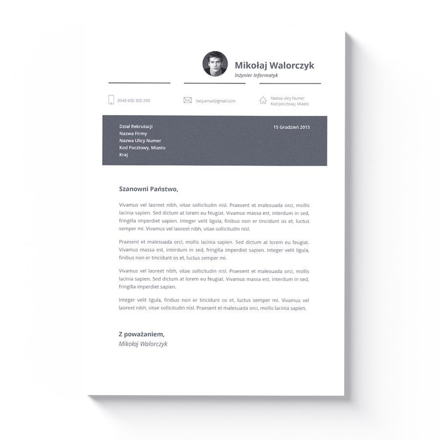 cv dla studenta list motywacyjny miami