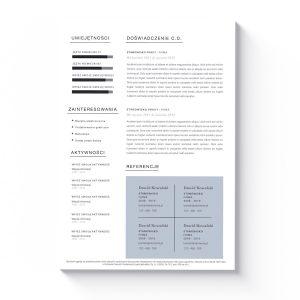 szablon cv list motywacyjny pierre